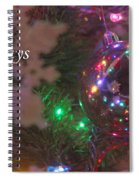 Ornaments-2096-happyholidays Spiral Notebook