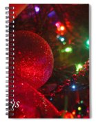 Ornaments-2107-happyholidays Spiral Notebook