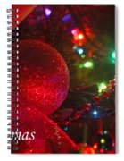 Ornaments-2107-merrychristmas Spiral Notebook