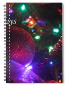Ornaments-2130-happyholidays Spiral Notebook
