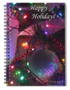 Ornaments-2136-happyholidays Spiral Notebook
