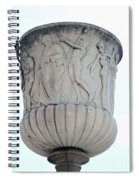Ornaments On Urn Campo Santo Pisa  Spiral Notebook