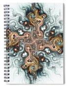 Ornate Cross Spiral Notebook