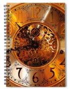 Ornate Timekeeper Spiral Notebook