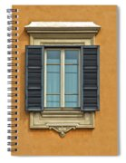 Ornate Window Of Rome Spiral Notebook