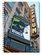 Orpheum Sign Spiral Notebook
