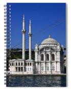 Ortakoy Mosque Spiral Notebook
