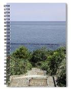 Italian Landscapes - Ortona Italy Spiral Notebook