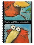 Orville And Wilburs First Flight Spiral Notebook