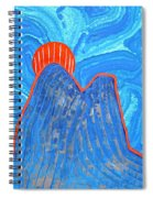 Os Dois Irmaos Original Painting Sold Spiral Notebook