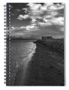 Osar Beach Iceland Spiral Notebook
