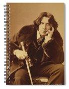 Oscar Wilde 1882 Spiral Notebook