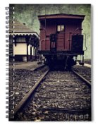 Other Side Of The Tracks Spiral Notebook