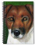 Otis Jack Russell Terrier Spiral Notebook