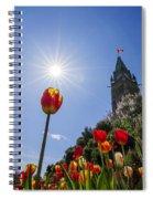 Ottawa Tulip Festival Spiral Notebook