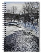 Otter Brook Scene Spiral Notebook
