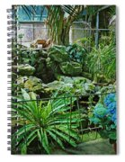 Ott's Greenhouse - Schwenksville - Pennsylvania - Usa Spiral Notebook