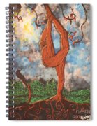 Our Dance With Nature Spiral Notebook