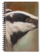 Our Friend The Badger Spiral Notebook