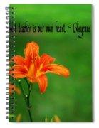 Our Heart Teaches Spiral Notebook