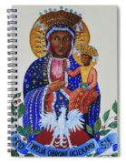 Our Lady Of Czestochowa Spiral Notebook