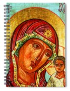 Our Lady Of Kazan Spiral Notebook