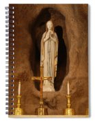 Our Lady Of Lourdes Spiral Notebook