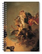Our Lady Of Mount Carmel  Spiral Notebook
