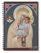 Our Lady Of Mt. Carmel 255 Spiral Notebook