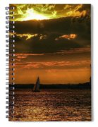 Our Lady Of The Harbor Spiral Notebook