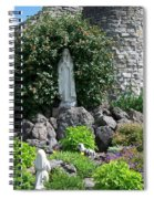 Our Lady Of The Woods Shrine Lll Spiral Notebook