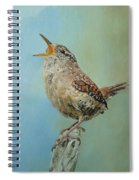 Our Little Wren Spiral Notebook