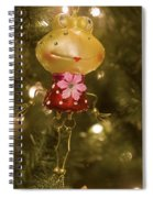 Our Miss Froggy Spiral Notebook
