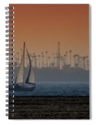 Out For A Sail 2 Spiral Notebook