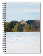 Out In The Snow Spiral Notebook