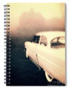 Out Of Gas Spiral Notebook