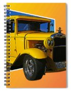 Out Of Picture Ford Spiral Notebook