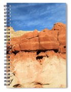 Out Of Place Spiral Notebook