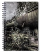 Out Of Steam Spiral Notebook