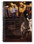 Out Of The Gate Spiral Notebook