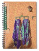 Out Of The Pool Spiral Notebook