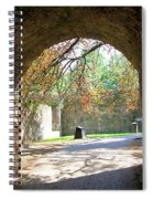 Out Of The Tunnel Spiral Notebook