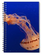 Out Of This World - Jellyfish Spiral Notebook