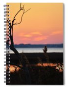Ocean City Sunset Out On A Limb Spiral Notebook