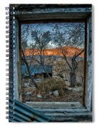 Out The Window Spiral Notebook
