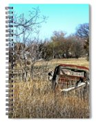 Out To Pasture 3 Spiral Notebook