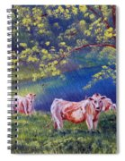 Out To Pasture Spiral Notebook