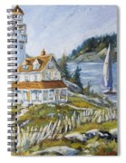 Out To Sea By Prankearts Spiral Notebook