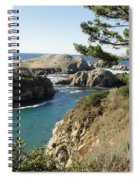 Out To Sea Spiral Notebook