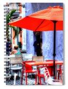 Dining Alfresco Spiral Notebook